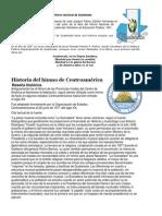 Historia Del Himno Nacional de Guatemala Gelver