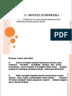 TEMA 3 - Sistem Atmosfera