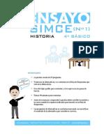 Ensayo1 Simce Historia 4basico 2012