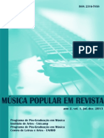 Musica Popular Em Revista Vol1. 2013