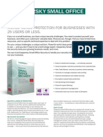 Kaspersky Small Office Security v3