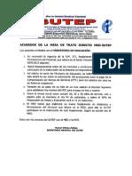 Acuerdos Trato Directo Med-sutep