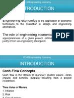 Intro Engineering Economy