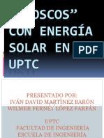 Kioscos Con Energía Solar en La Uptc