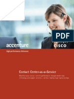 Cisco Contact Center as a Service