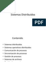 Sistemas Distribuidos Parte I