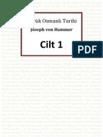 Hammer - Büyük Osmanlı Tarihi 1.Cilt