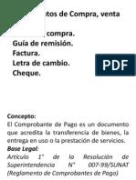 Documentos Compra Venta
