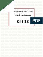 Hammer - Büyük Osmanlı Tarihi 13.Cilt