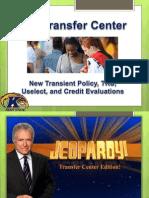 transfer center advisor training