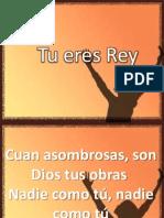 10. Canción Tu Eres Rey e t Al Junio 23 de 2013