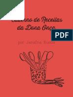 Caderno Dona Onca