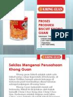 Proses Produksi Biscuit Khong Guan