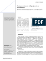 Avaliação e Tratamento Da Hiperglicemia UTI.