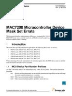 MAC72xx Mask Errata