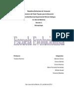 Escuela Evolucionista