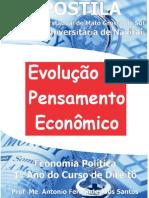 Apostila Evoluçao Do Pensamento Economico