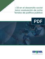 El Ramo 33 en La Politica de Desarrollo de Mexico