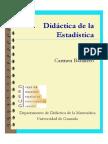 Didáctica de La Estadística- Carmen Batanero