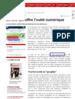 JDD 02-01-2010 Le site qui offre l'oubli numérique.pdf