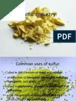 Sulfur Industry