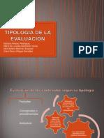 Pauta 4 Tipología de La Evaluación