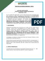 Acta Decalificación