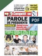 Edition du 03 Novembre 2009
