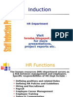 Induction Hr Ppt