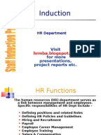 project report on induction program Induction of beginning educators teacher induction programs what is an induction program why are induction programs needed what are the massachusetts standards for teacher induction programs.