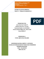 Sistema de Gestion Ambiental Trabajo Colaborativo 1