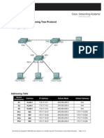 E3_5.5.1_Lab Basic Spanning Tree Protocol
