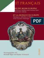 """""""L'Esprit Français"""" Und Die Musik Europas"""