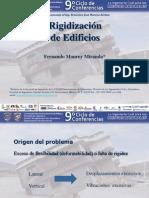 5 - Ponencia F Monroy Rigidización de Edificios 9o Ciclo Marzo 2014