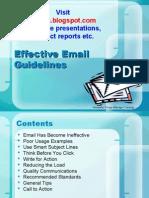 Email Etiquettes Ppt