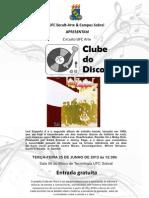 Clube Do Disco - Led Zeppelin II 25-06-2013