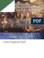 "Int. Konfliktforschung I - Woche 08 - ""Second image"" / Der Staat (Übung)"