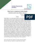 2 Costa F v Razão Áurea e a Arquitetura de Andrea Palladio
