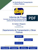 Vista Publica Infraestructura DTOP 1999