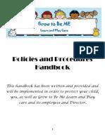 policies and procedures handboo1
