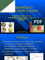 III) Hidrocoloides (Gomas) 2013