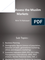 How to Assess the Muslim Markets