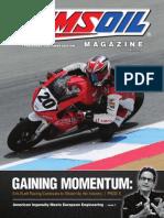 Erik Buell Racing gaining momentum in 2014 season.