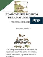 Componentes Bioticos