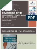 02 2014 Elaboración y Revisión de Datos JUEVES 13.03.14