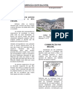 Opinião Estudantil Jornal Dos Alunos Do Eja