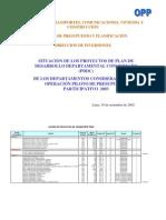 Proyectos Viales PDDC-EXP