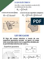 Flujo Electrico y Ley Gauss
