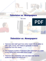 Television vs. Newspapers