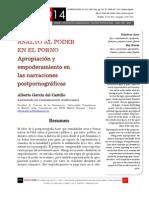 Asalto Al Poder en El Porno. Apropiación y Empoderamiento en Las Narraciones Postpornográficas-García Del Castillo, Alberto